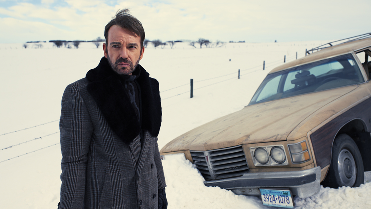 Billy Bob Thornton som Lorne Malvo i «Fargo». (Foto: HBO Nordic)