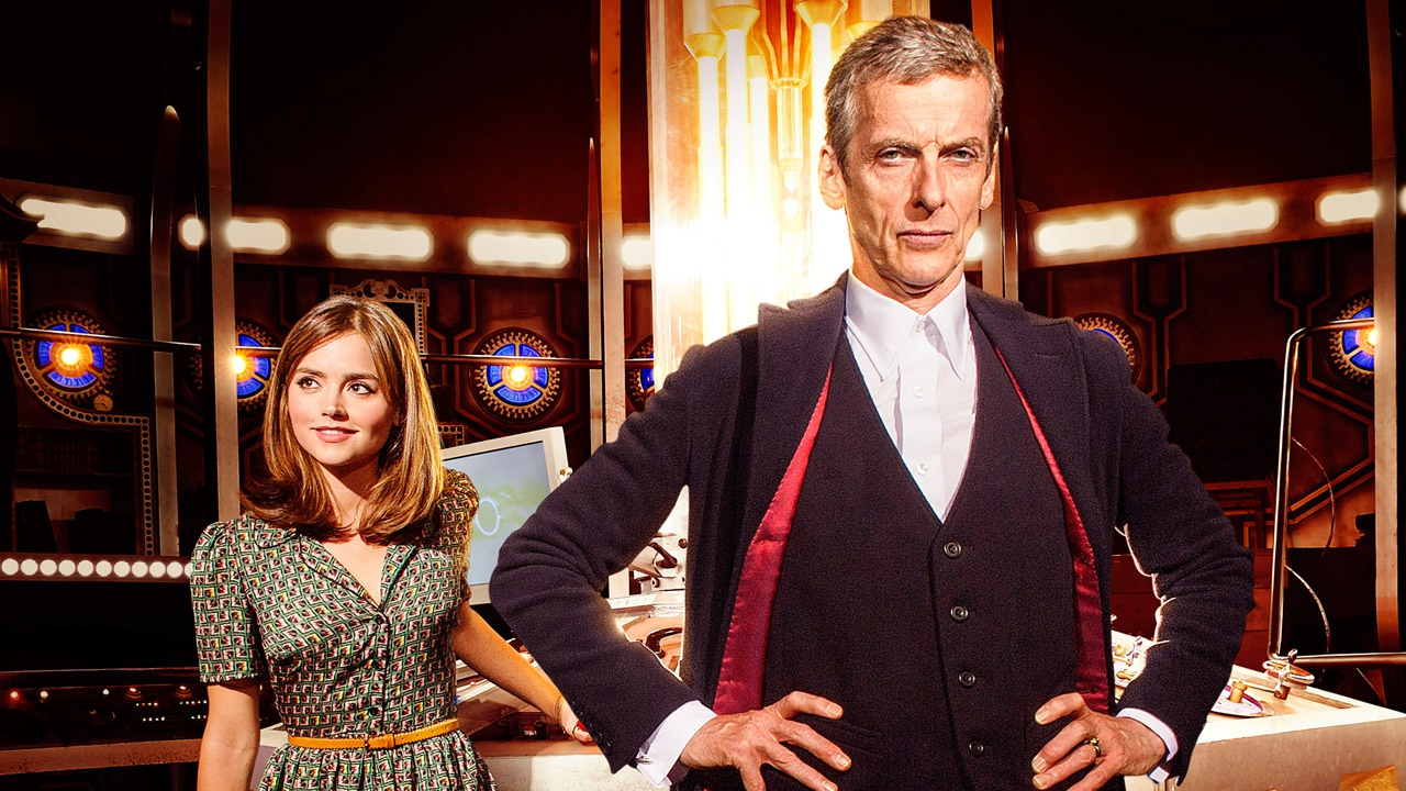 Peter Capaldi som «Doctor Who». (Foto: BBC)