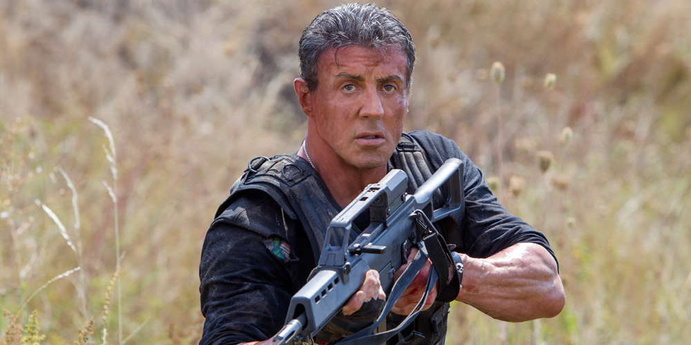 Sylvester Stallone i «Expendables 3». (Foto: SF Norge)