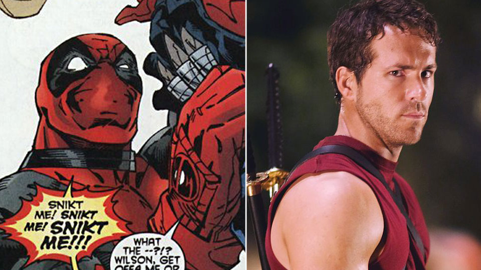 Deadpool og Ryan Reynolds.
