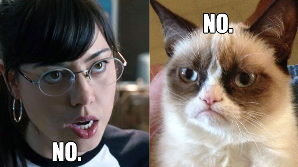 Aubrey Plaza skal spele Grumpy Cat.