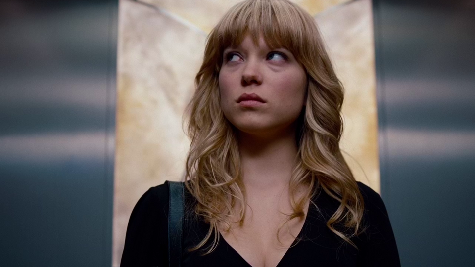 Léa Seydoux i «Mission Impossible: Ghost Protocol».