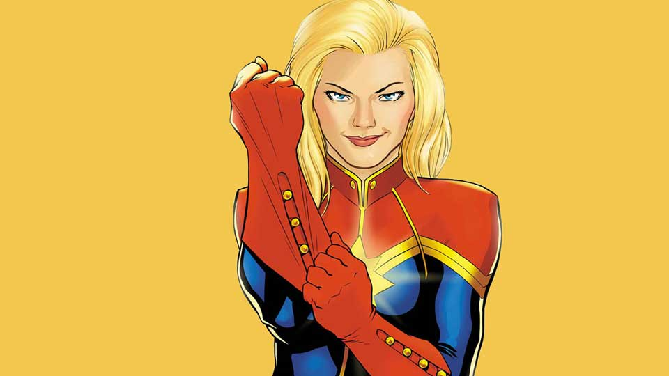 Carol Danvers –Captain America.