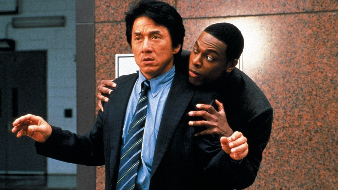 Rush Hour - Chris Tucker og Jackie Chan.