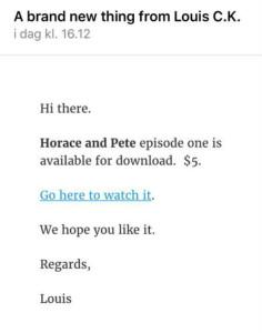 Slik kan man også lansere en ny tv-serie.