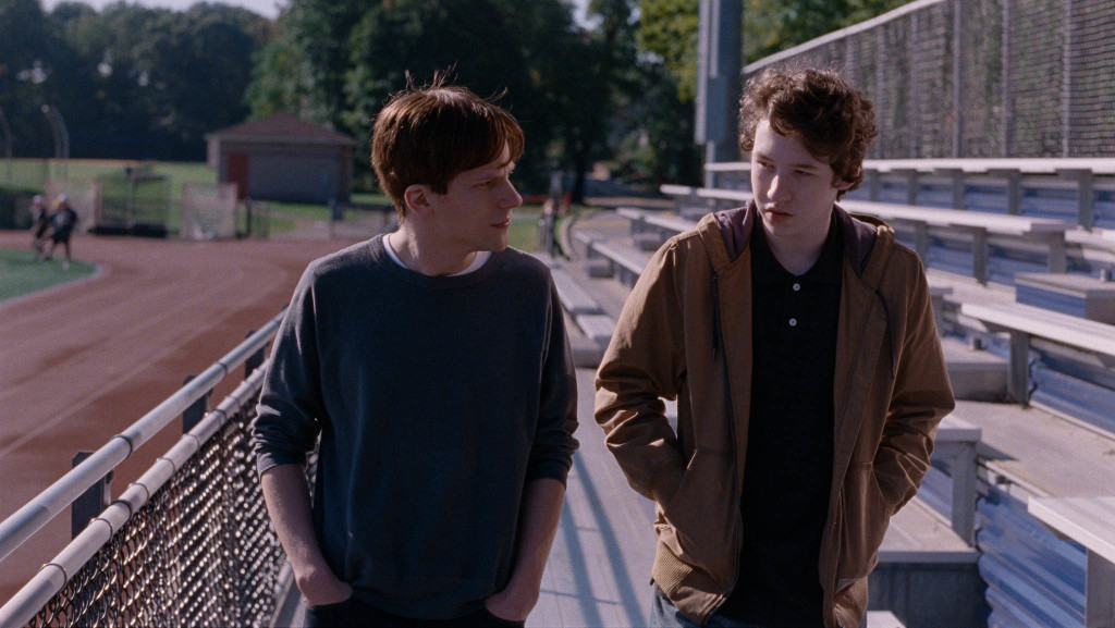 "Jesse Eisenberg og Devin Druid i ""Louder Than Bombs"". Foto: Jacob Ihre, Motlys AS"