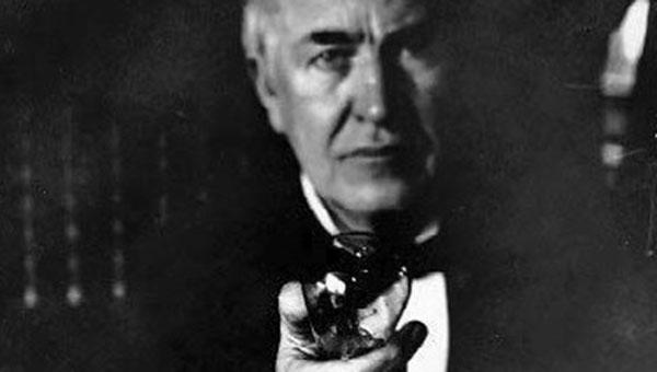 Edison og nyvinningen.