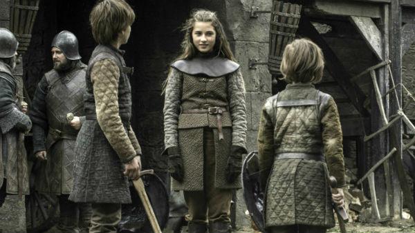 Lyanna Stark, i Cordelia Hills skikkelse. Foto: HBO