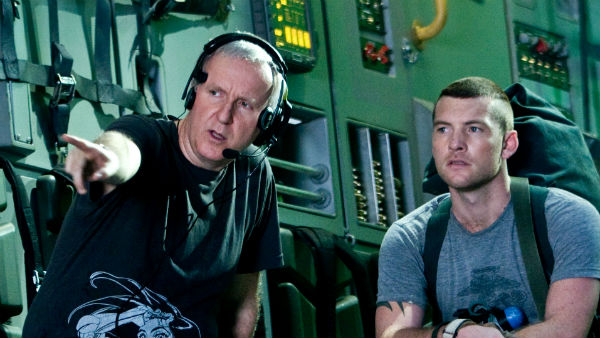 James Cameron på sett. Foto: Twentieth Century Fox