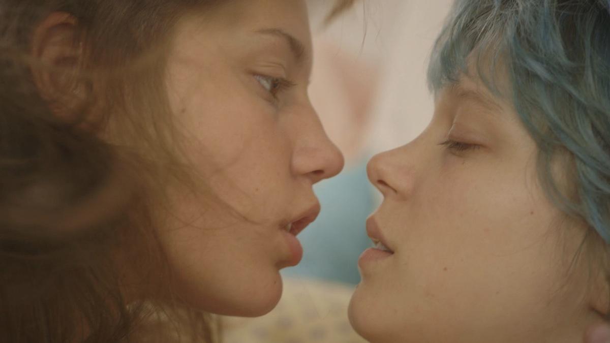 TV lesbisk sex scene
