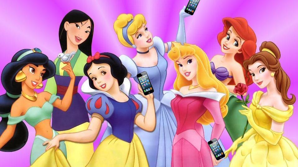 Hva om Disney-prinsessene hadde hatt Instagram  – Filter Film og TV 3d05f509c72f1