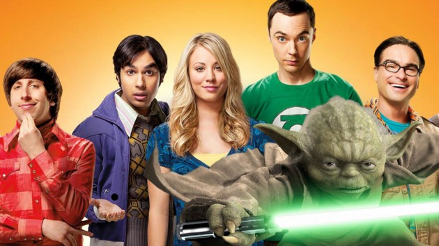 The Big Bang Theory og Yoda. (Montasje, Foto: NBC og Lucasfilm)