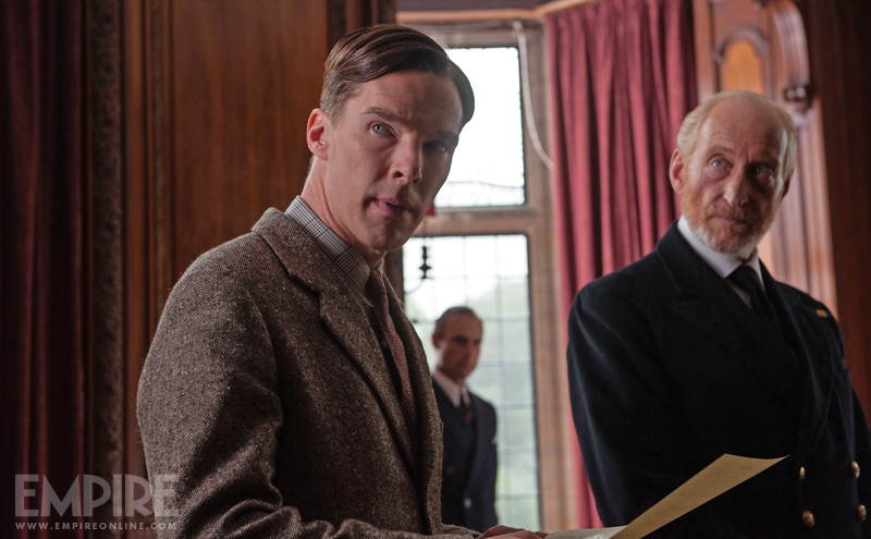 Benedict Cumberbatch og Charles Dance i Imitation Game