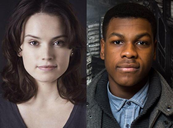John Boyega og Daisy Ridley – to av skuespillerne i den kommende «Star Wars»-filmen.