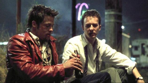 Edward Norton og Brad Pitt i «Fight Club».
