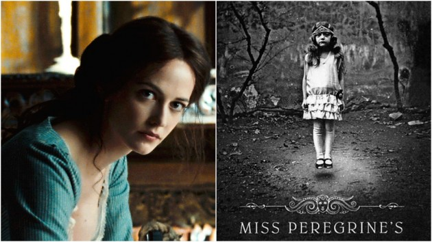 Eva Green i Tim Burton sin «Dark Shadows» – coveret på «Miss Peregrine's Home for Peculiar Children».