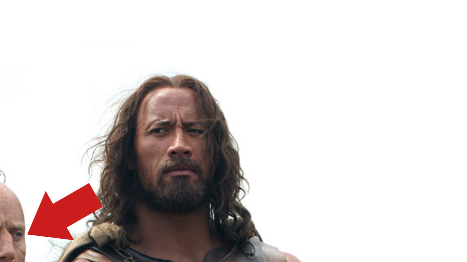 Aksel Hennie og Dwayne The Rock Johnson i Hercules.