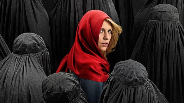 Claire Danes som Carrie Mathison i fjerde sesong av «Homeland».
