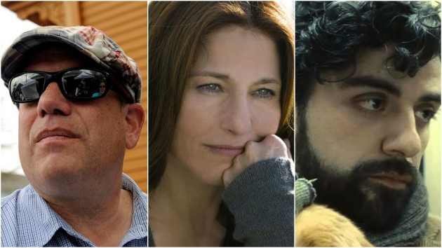 David Simon, Catherine Keener og Oscar Isaac.