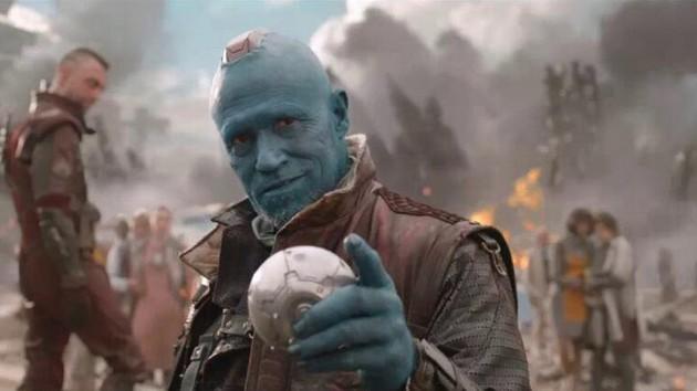 Yondu (Michael Rooker) i «Guardians fo the Galaxy». (Foto: Disney)