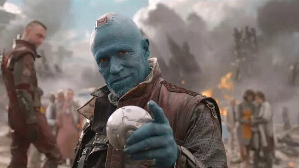 Yondu (Michael Rooker) i «Guardians fo the Galaxy». (Foto: Disney)