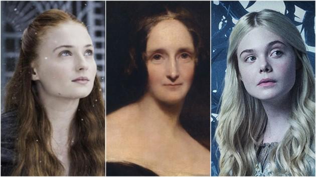 Sophie Turner og Elle Fanning skal begge spille i filmer om livet til «Frankenstein»-forfatter Mary Shelley.