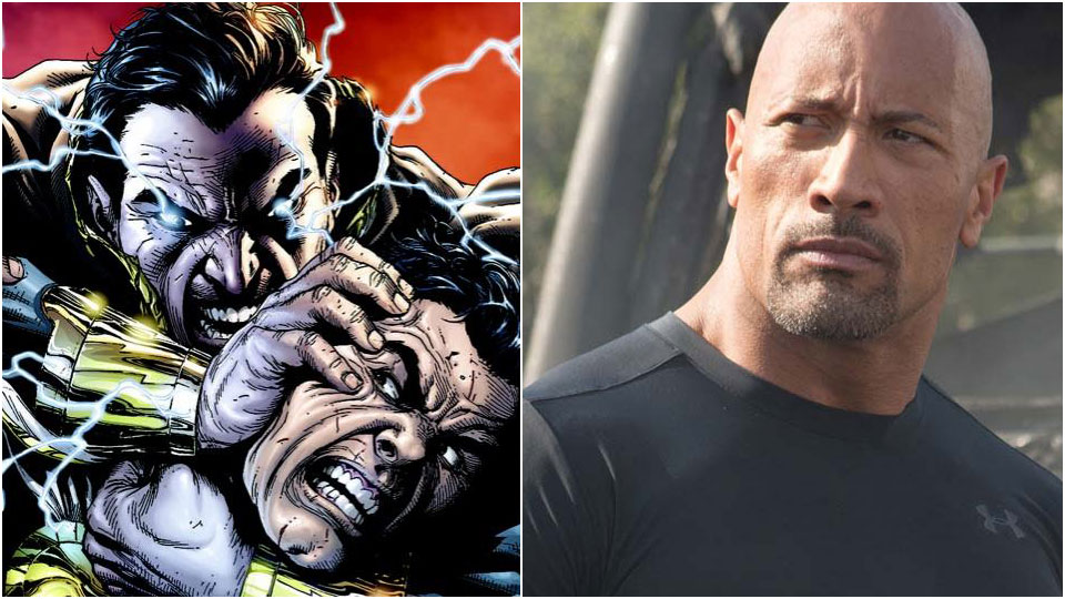 Dwayne «The Rock» Johnson skal spille Black Adam i DCs kommende superheltfilm, «Shazam».