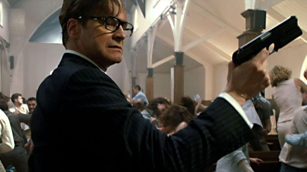 Colin Firth i «Kingsman».