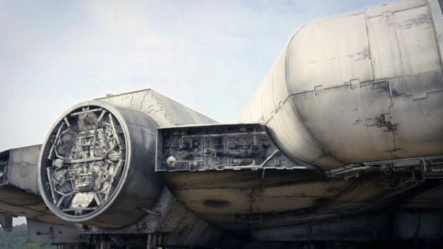 Millennium Falcon frå Star Wars-settet.