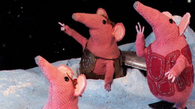 Romlingane –The Clangers –britisk barne-tv-serie frå BBC. (Foto: BBC)