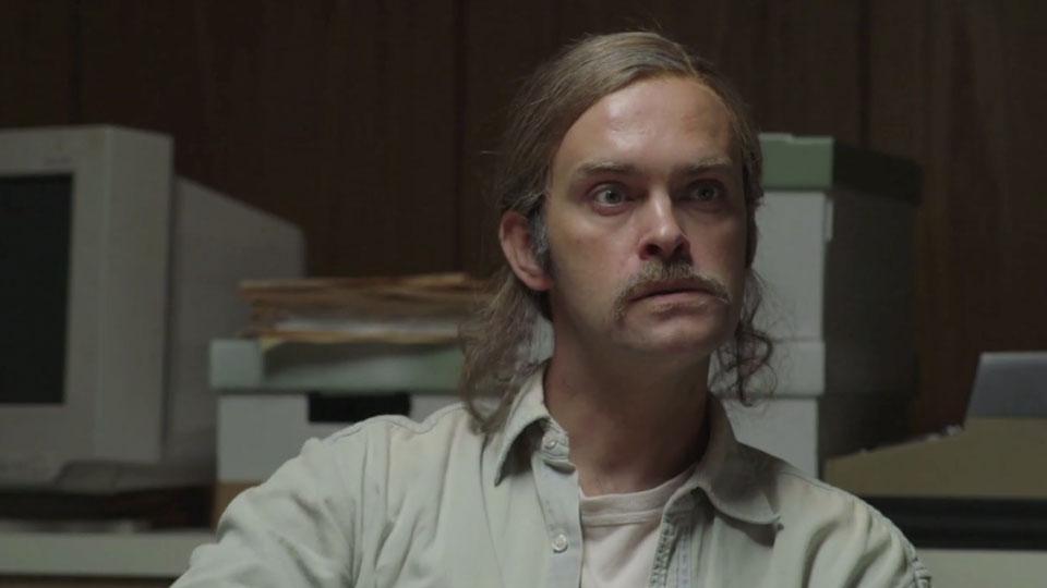 Vidar Magnussen som Matthew McConaughey. (Foto: NRK)