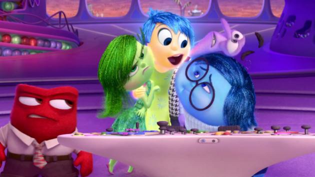 «Inside Out» fra Pixar.