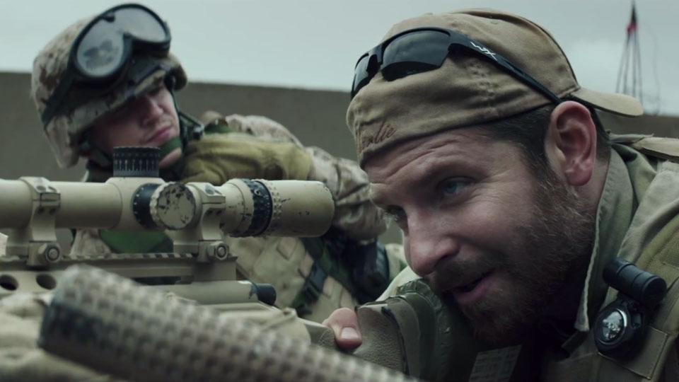 Bradley Cooper i «American Sniper».
