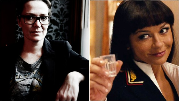 Eva Sørhaug regisserer Catherine Zeta-Jones i «The Godmother».