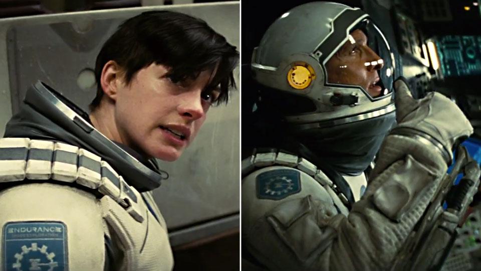 Anne Hathaway og Matthew McConaughey i «Interstellar».