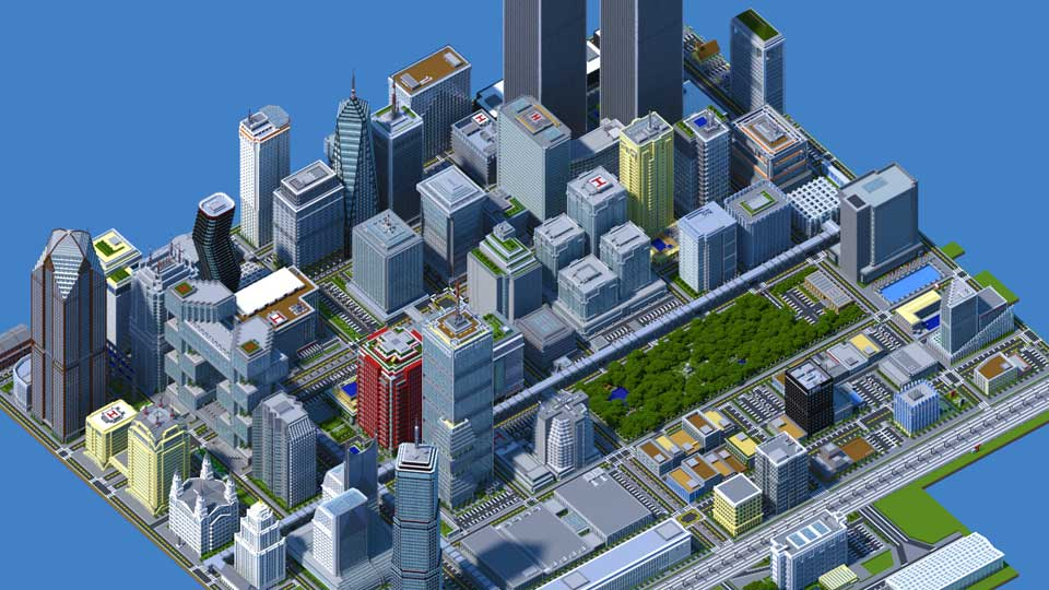 Minecraft - Titan City, av Duncan Parcells (ColonialPuppet)