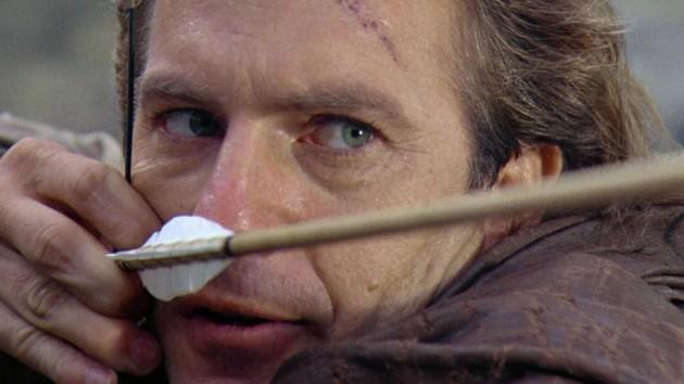 Kevin Costner som «Robin Hood».