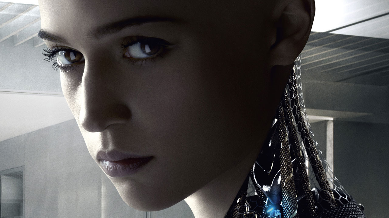 Alicia Vikander som Ava i Alex Garlands «Ex Machina».