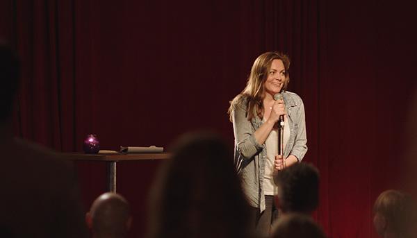 Elise (Siri Seljeseth) o «Unge lovende». Foto: NRK