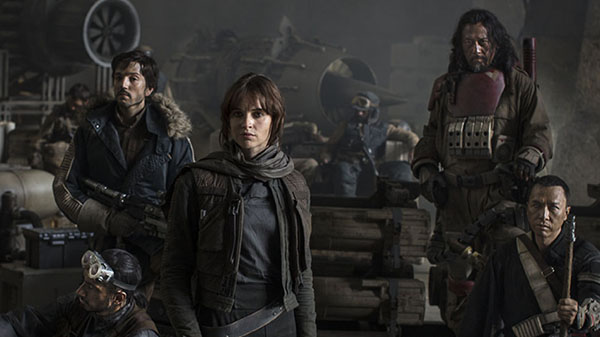 Felicity Jones har hovedrollen i «Rogue One».  (Foto: Lucasfilm)