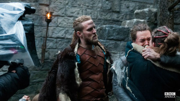 Tobias Santelmann som figuren Ragnar i første sesong. Foto: BBC America