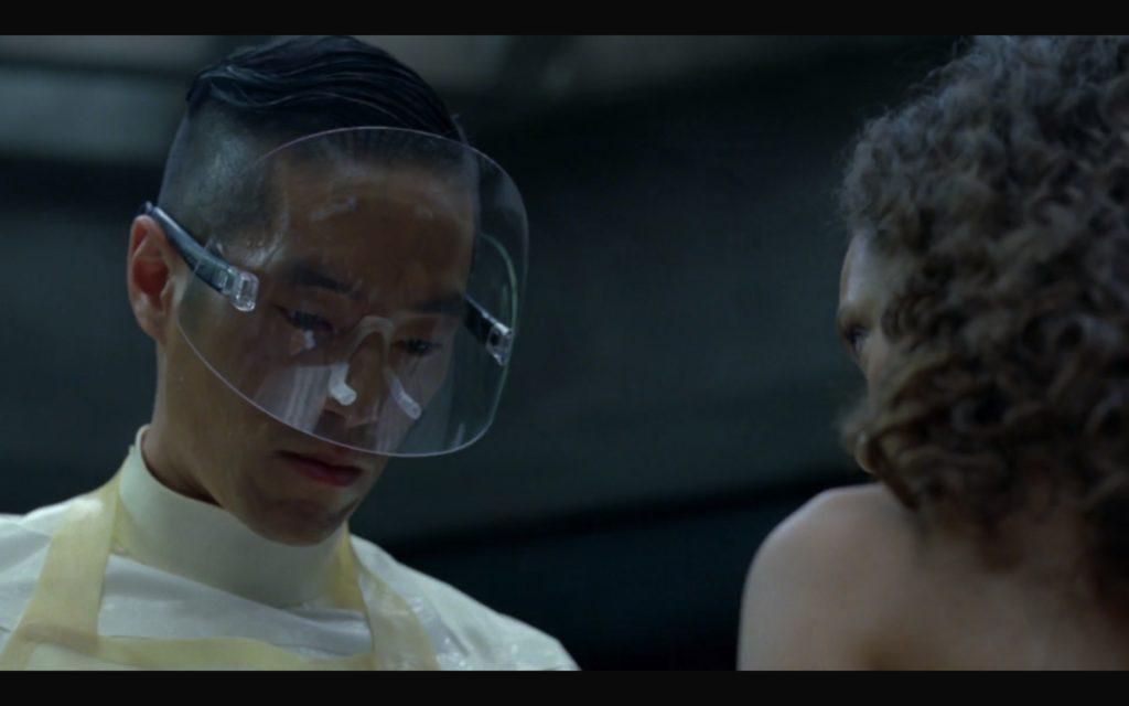 Unnskyld, jeg mente ikke å si at de nye brillene dine er teite. Ikke bli lei deg. Du ser kjempefin ut.