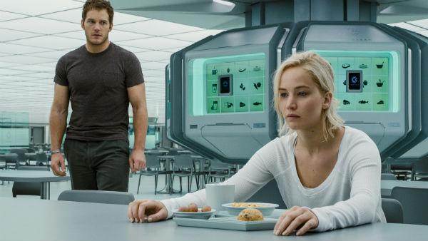 Chris Pratt og Jennifer Lawrence: Ikke så romantisk som du tror. (Foto: UIP)